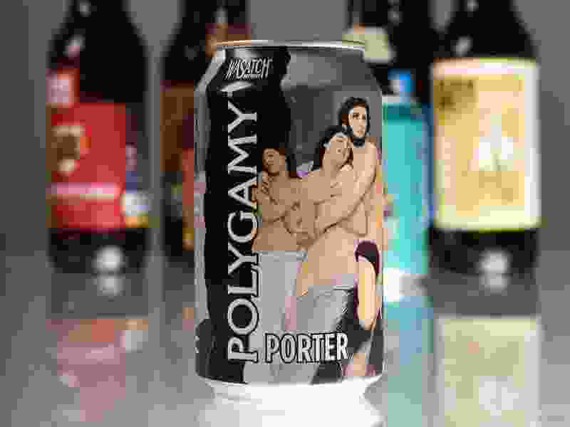 Popular Utah beer is rejected in North Carolina because it has 'polygamy' in its name