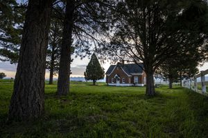 (Leah Hogsten | The Salt Lake Tribune) The 150 acre Panguitch Research Farm is the former location of the Panguitch  Boarding School for mostly the Kaibab and Shivwitz bands of the Paiute Indian Tribe that operated from 1904 to 1909. In 1909, the property once owned by the U. S. government was transferred to the state of Utah where the land was used for experimental high-altitude farming. Today, it sits mostly vacant, except for the dilapidated lone brick building that dates back to the 1900's.
