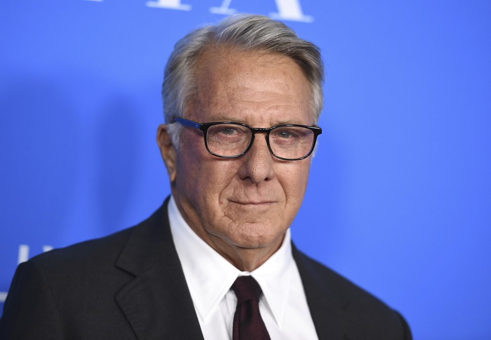 """FILE - In this Aug. 2, 2017 file photo, Dustin Hoffman arrives at the Hollywood Foreign Press Association Grants Banquet in Beverly Hills, Calif. Hoffman is apologizing for alleged sexual harassment of a 17-year-old intern in 1985. Writer Anna Graham Hunter alleges that the 80-year-old actor groped her on the set of TV movie """"Death of a Salesman"""" and """"talked about sex to me and in front of me."""" (Photo by Jordan Strauss/Invision/AP, File)"""