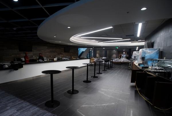(Rick Egan | The Salt Lake Tribune) The new Club section in the Vivint Smart Home Arena, Friday, September 15, 2017.