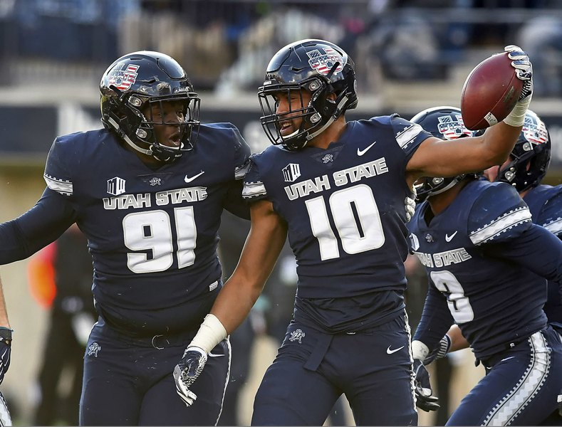 As No. 14 Utah State remains zeroed in on the present and eager for the future, it refuses to forget the struggles of recent years