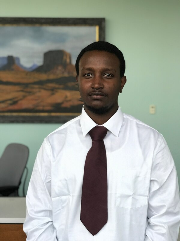 Biruk Mekonnen, 20, said the path to citizenship was a long and difficult one for him.