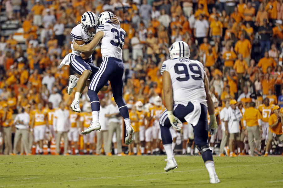BYU trying to get its kicking game back together before the Hawaii Bowl