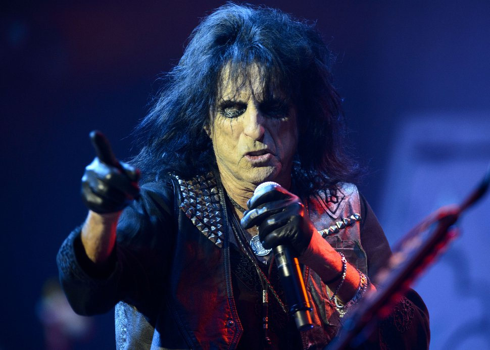 (The Salt Lake Tribune file photo) Rock legend Alice Cooper, seen here in concert in Salt Lake City, will join the celebrity lineup at FanX Salt Lake Comic Convention, set for April 19-20, 2019.