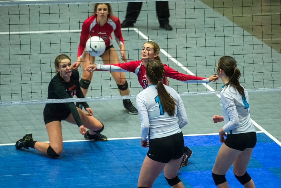 144b3ba9 Park City sweeps Sky View for first state volleyball crown - The ...