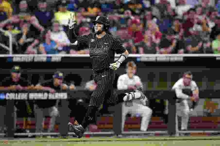 Vandy rides Rocker to 4-1 win, forces a Game 3 vs. Michigan in College World Series finals