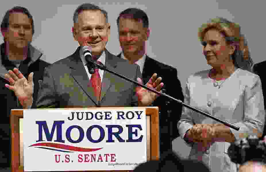 Bible talk with Jake Tapper leaves Roy Moore's spokesman speechless