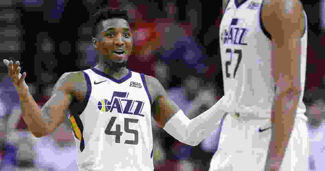 The Triple Team: Andy Larsen's analysis of Donovan Mitchell's 38-point outburst against the shorthanded Rockets