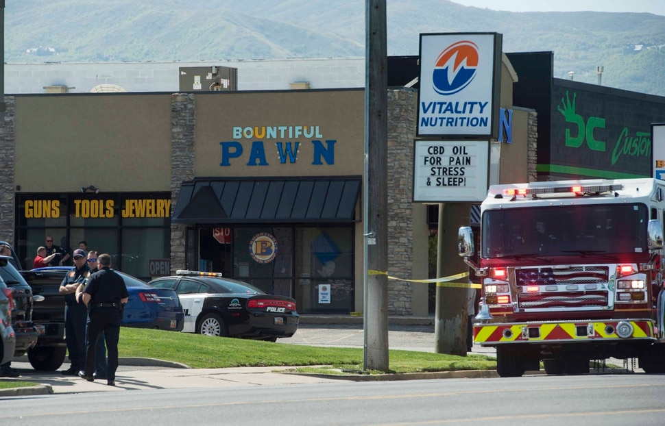 Bountiful pawnshop clerk shoots and kills suspect in for Bountiful storage