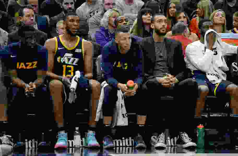 The Utah Jazz bench is a sore spot right now, but the team has limited flexibility to fix it