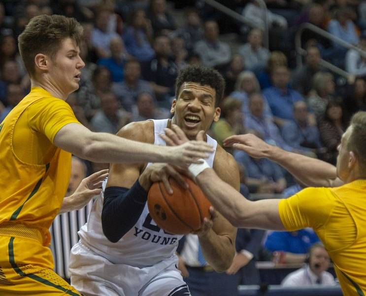 BYU's men's basketball team can't solve San Francisco. Dons again rally to beat Cougars, 83-82.