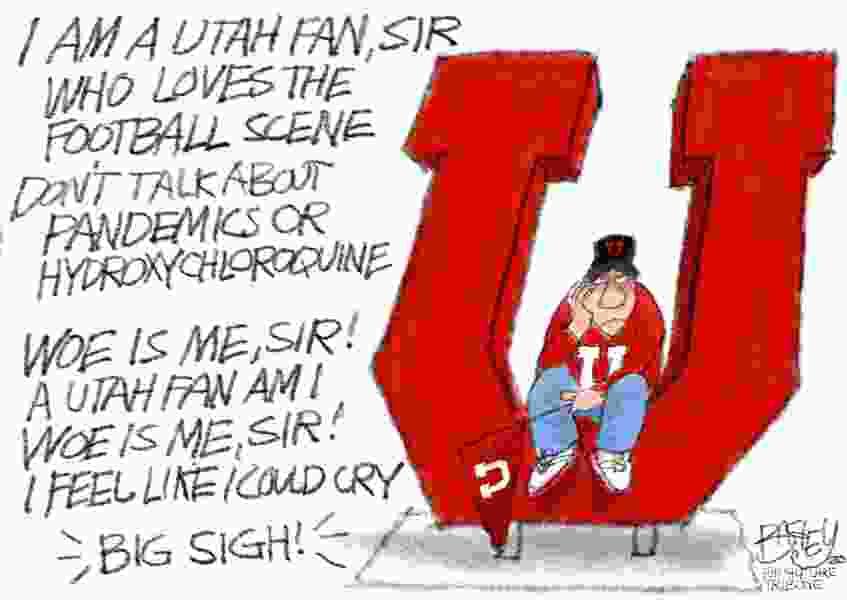 Bagley Cartoon: Utah Fan