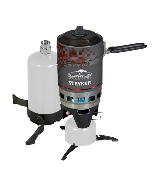 (Courtesy photo) The Stryker Multi-Fuel Stove, $59.95, by Cache Valley-based CampChef offers a lightweight (19.4 ounce), quick-heating stove.