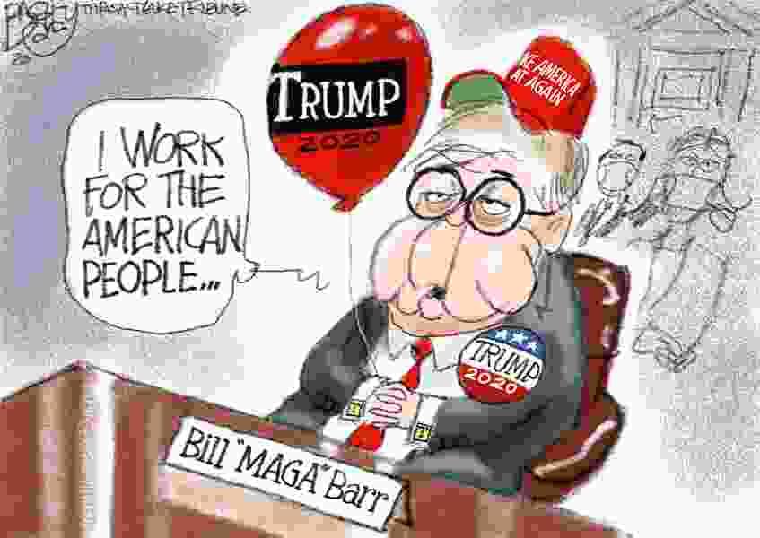 Bagley Cartoon: Low Barr