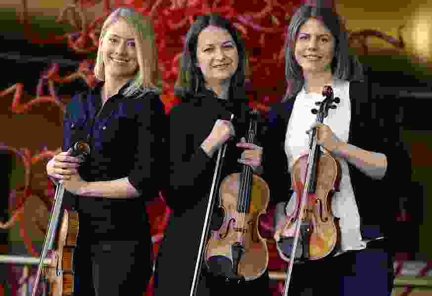 Meet the Utah Symphony's three newest violinists — all women, and one a Salt Lake native