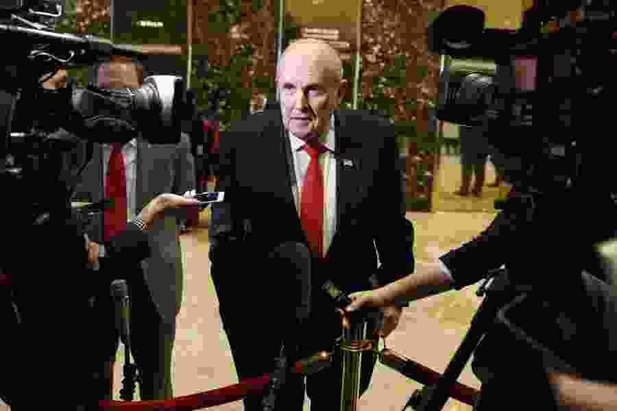 Max Boot: The ignominious fall of Rudolph Giuliani