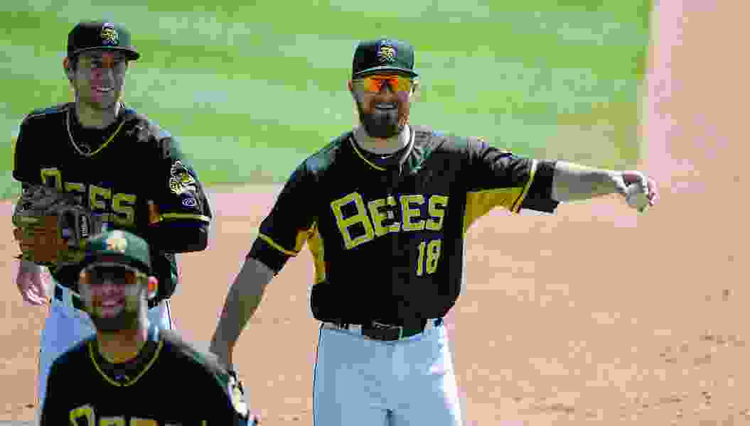 The Bees and Angels have two-way players in Jared Walsh and Kaleb Cowart