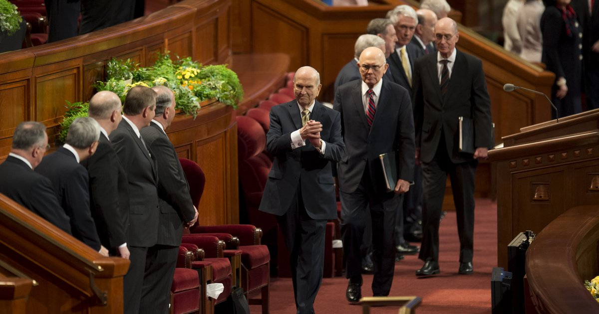 A judge fines Utahn for shouting 'stop protecting sexual predators' during LDS General Conference