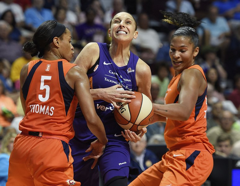 Diana Taurasi Wedding.Wnba All Stars See Coming Out As Way To Help Others In Lgbt