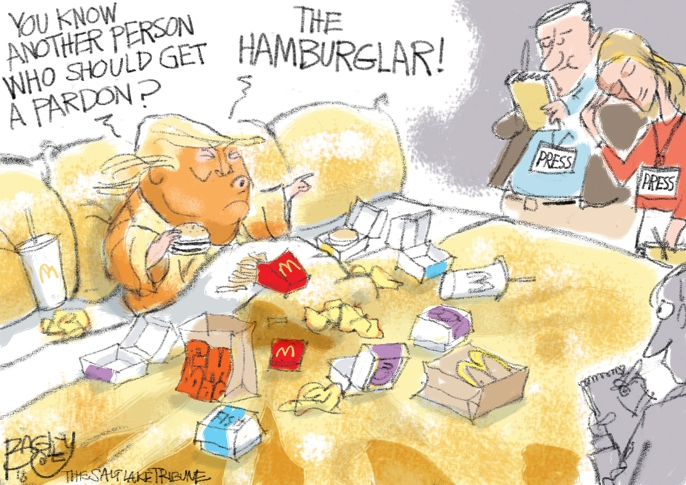 Bagley cartoon, June 1, 2018