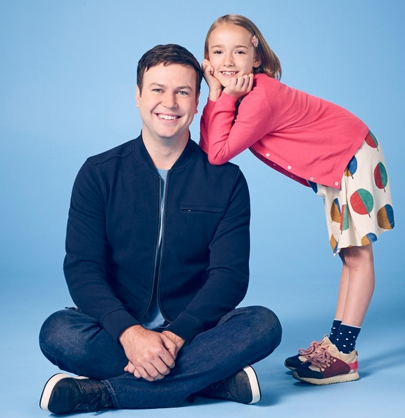 "(Photo courtesy F. Scott Schafer/ABC) ""Single Parents"" stars Taran Killam as Will and Marlow Barkley as Sophie."