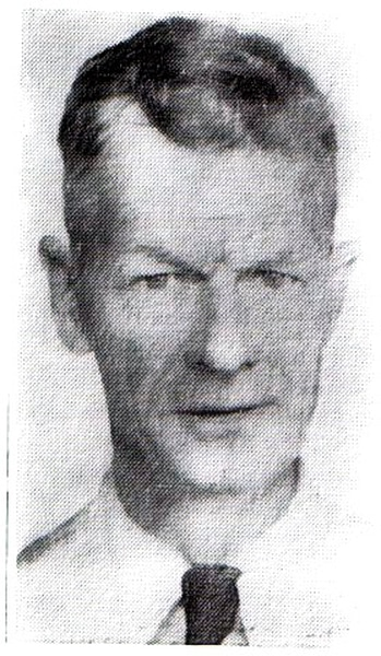 (Courtesy of Utah Law Enforcement Memorial historian Robert Kirby) Officer Edwin J. Fisher, who died after being stabbed by an inmate at the Utah State Prison on June 1, 1955.