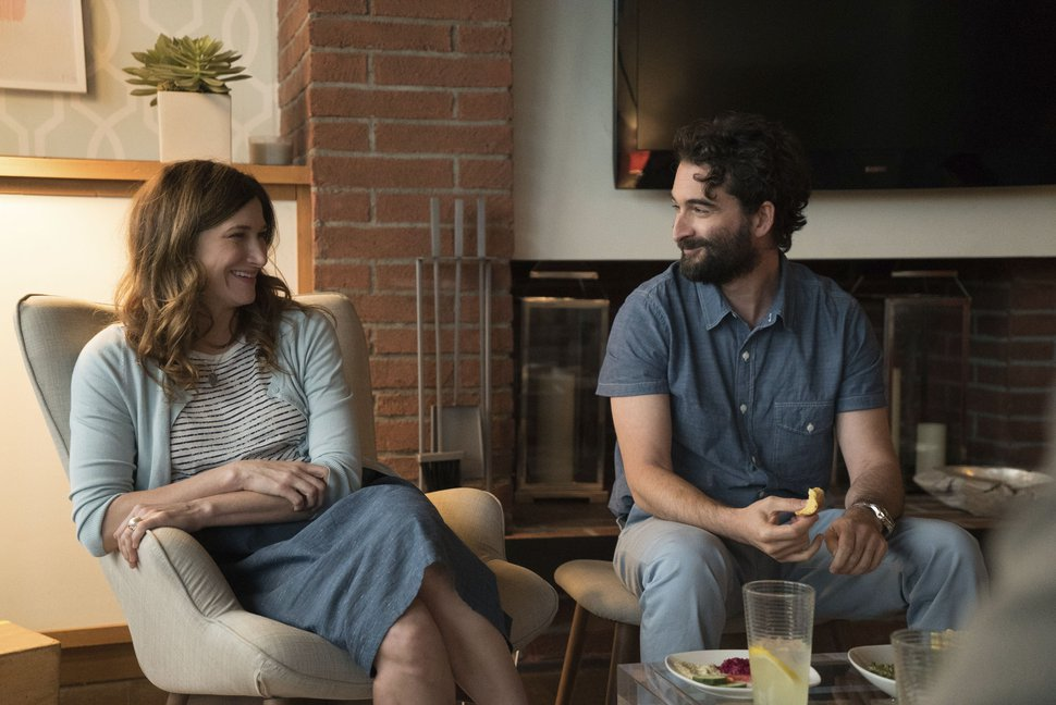 "Courtesy | Amazon Studios Kathryn Hahn as Raquel and Jay Duplass as Josh in ""Transparent."""