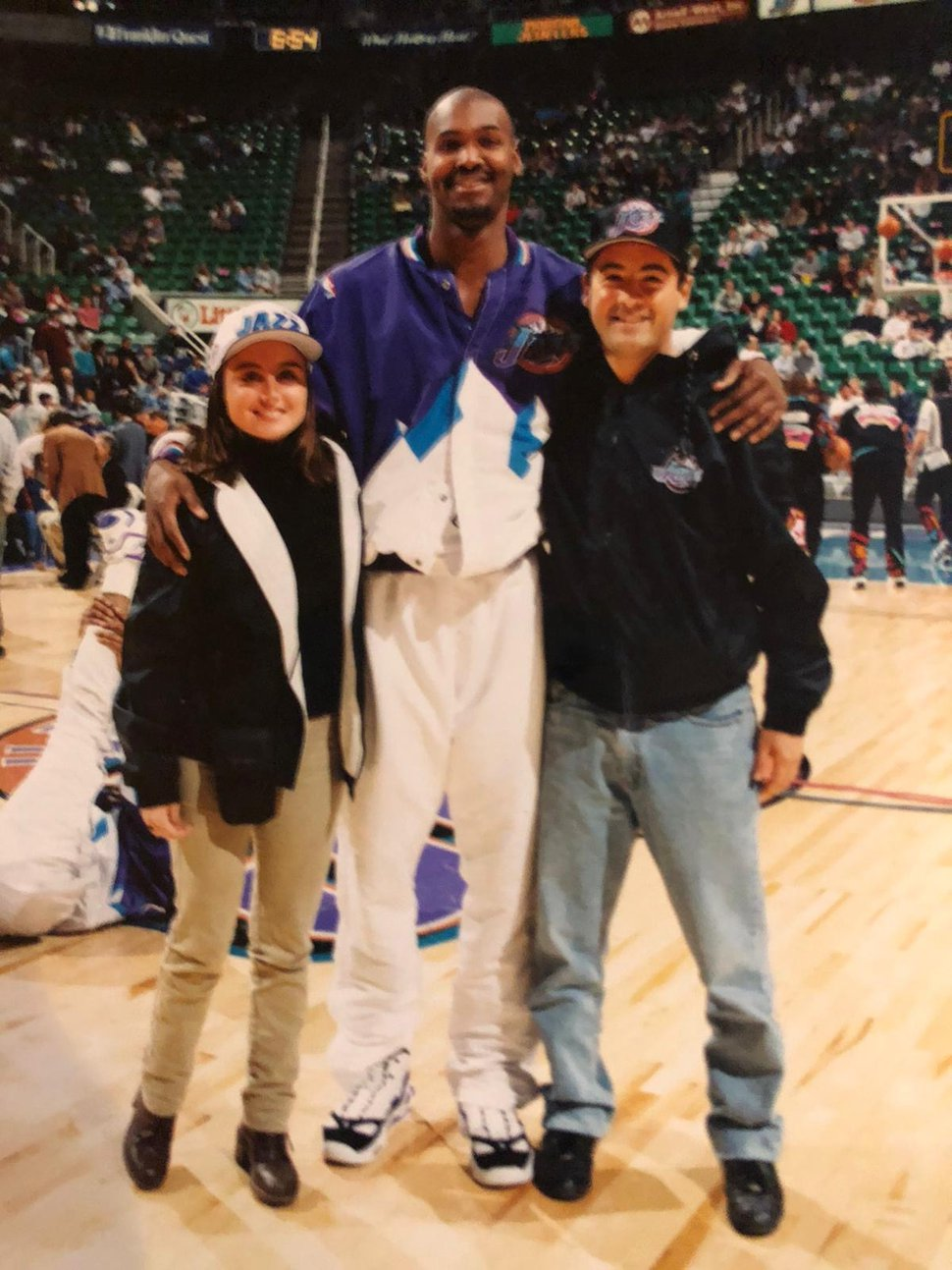 (Photo courtesy of Marcelo de Vida) Marcela de Vida, who lives in Uruguay, says he is a big Utah Jazz fan and that he's saddened by former coach Jerry Sloan's death.
