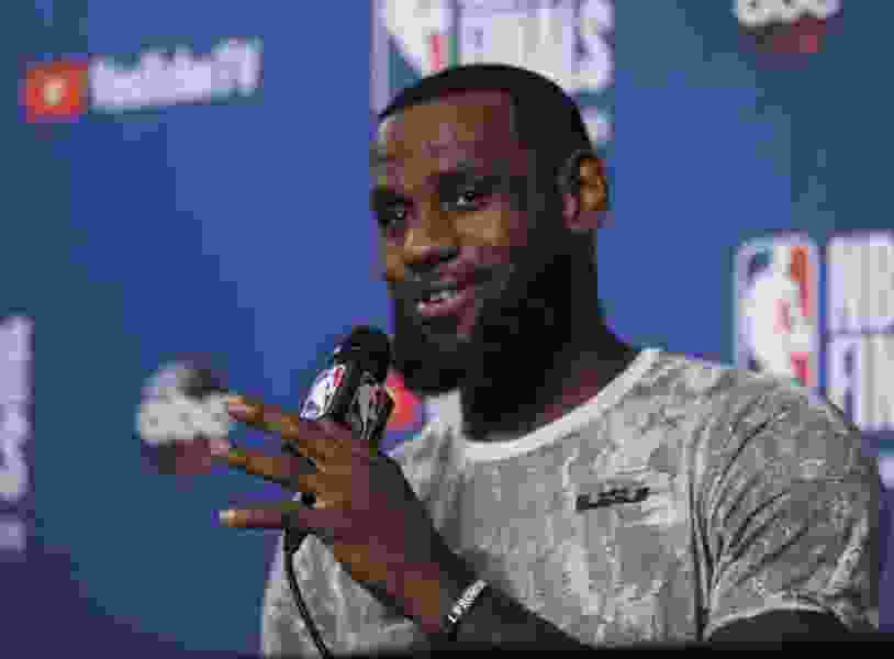 Facing Finals sweep, LeBron James praises 'stacked' Warriors