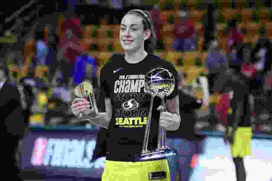 MVP Stewart leads way as Storm surge past Mystics 98-82 for WNBA title