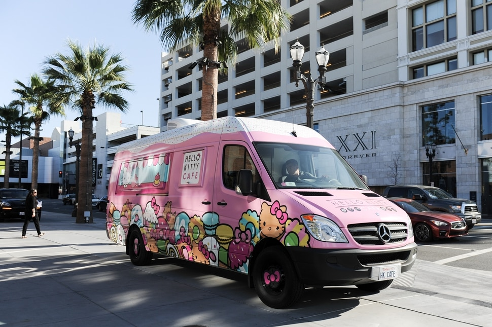 The Hello Kitty Cafe, a mobile food truck, returns to Murray on April 14.