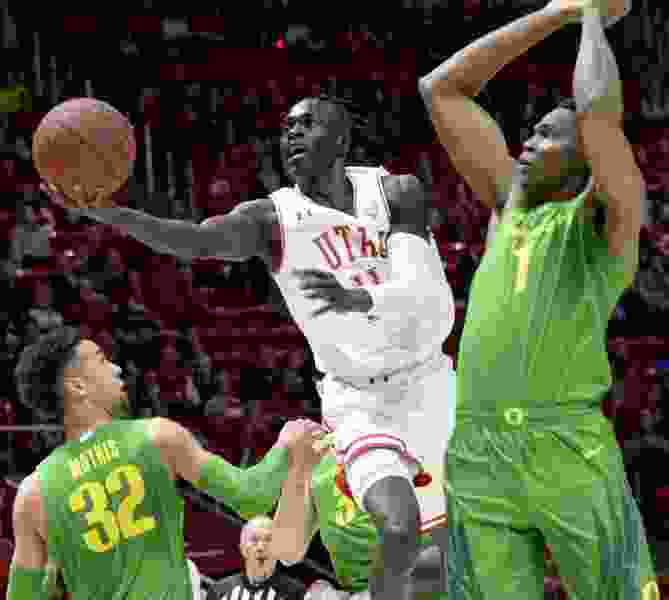 Utah hoops transfer Both Gach down to five schools, but remains in NBA draft mix