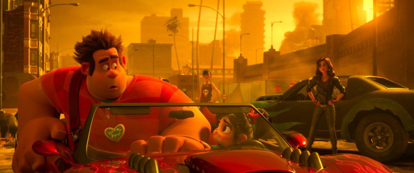 'Ralph Breaks the Internet' takes aim at web culture with happily hilarious results