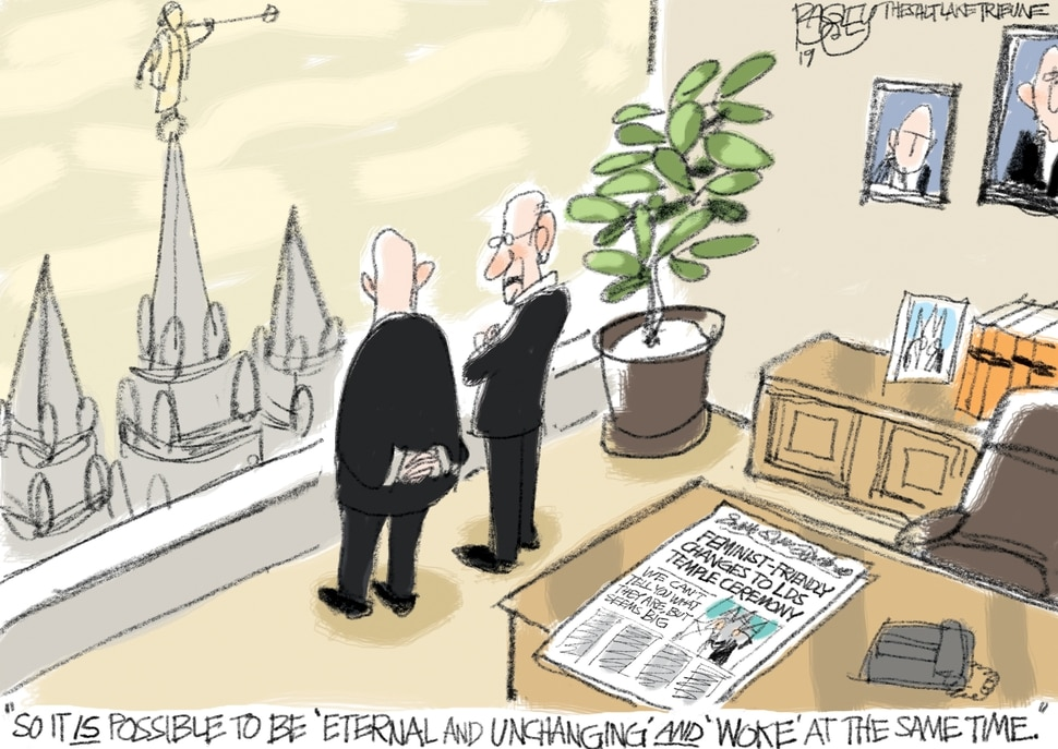 This Pat Bagley cartoon appears in The Salt Lake Tribune on Sunday, Jan. 6, 2019.