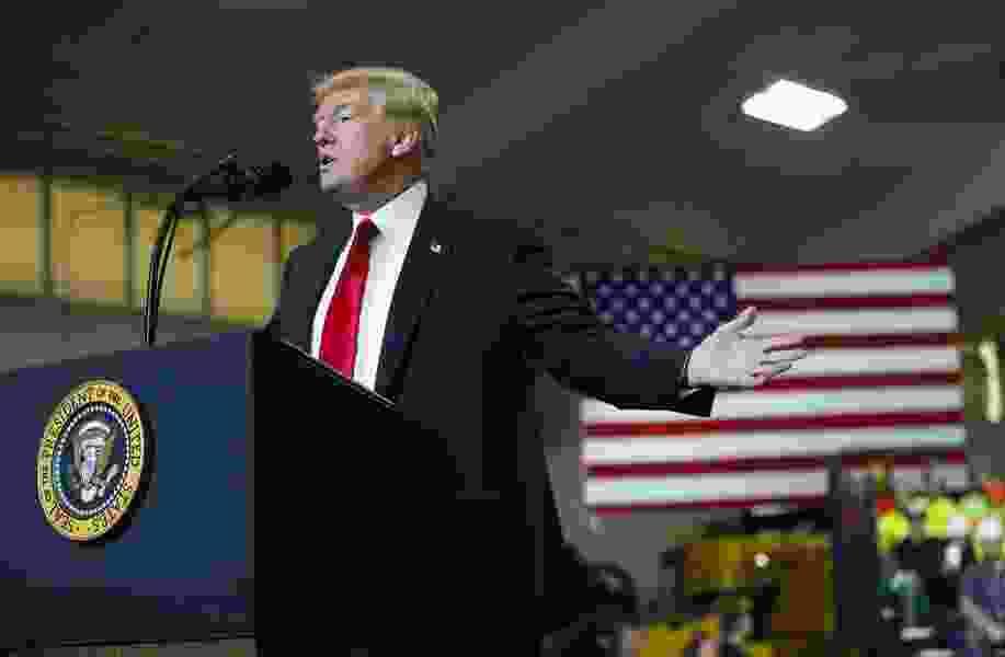 Trump says he may freeze South Korea trade deal for North Korea talks