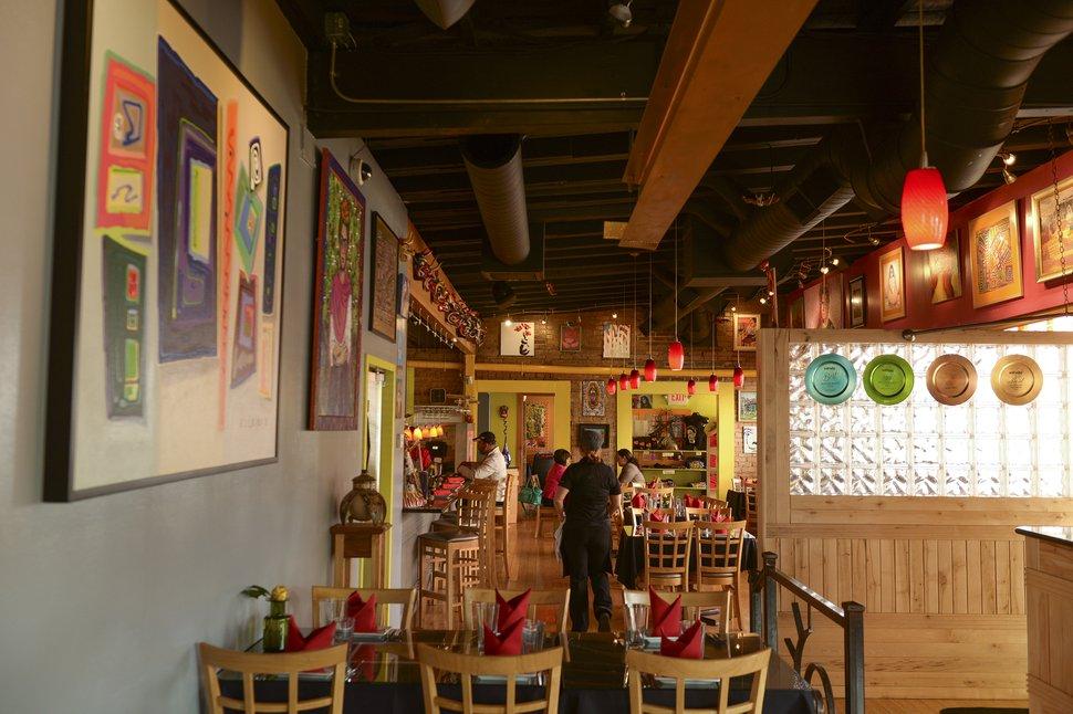 (Leah Hogsten | The Salt Lake Tribune) The new Rico Cocina y Tequila Bar.