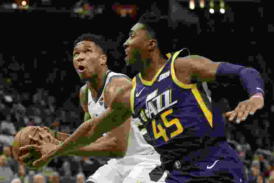 Missing some key pieces, the Jazz fall behind early in preseason game at Milwaukee and lose 133-99