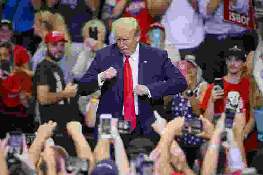 Political Cornflakes: President Donald Trump attacks the 'rage-filled Democrat Party'