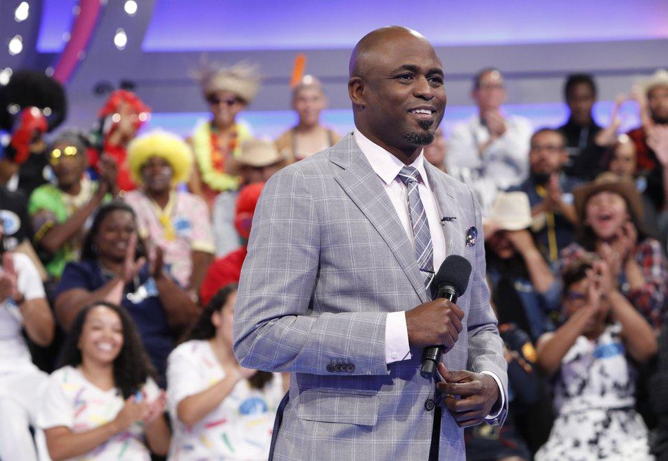 (Monty Brinton | CBS via AP) Host Wayne Brady on the set of the gameshow
