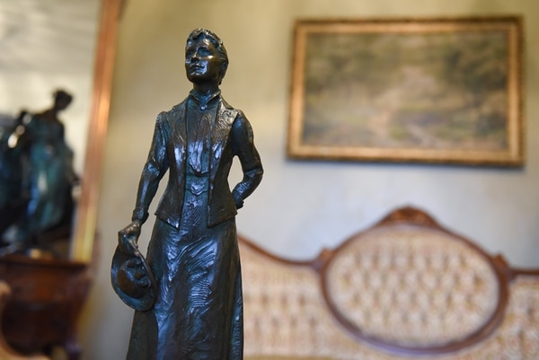 (Francisco Kjolseth | The Salt Lake Tribune) Sen. Todd Weiler has introduced a bill for January's legislative session to replace Philo T. Farnsworth's statue in Statuary Hall in Washington D.C. with Martha Hughes Cannon, pictured, the first woman state senator.