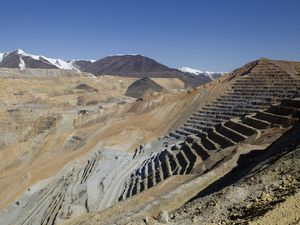 (Al Hartmann | The Salt Lake Tribune) Eight years ago, Rio Tinto Kennecott's Bingham Canyon mine experienced a catastrophic slide, pictured here in April 25, 2013. On Monday, the open pit copper mine outside Salt Lake City experienced another major slide.
