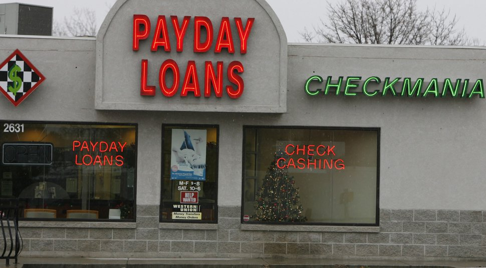 (Tribune file photo | Leah Hogsten) New state data show the average interest rate on a payday loan in Utah is 528 percent.