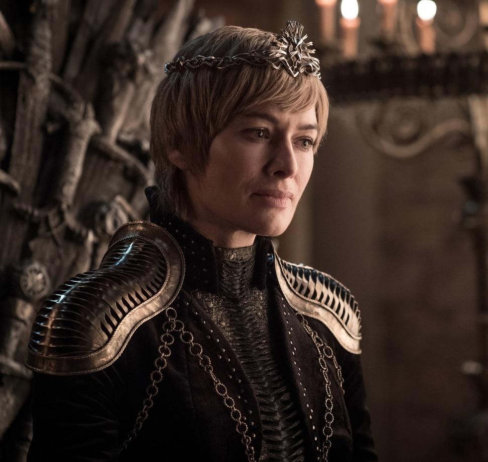 "(Photo courtesy Helen Sloane/HBO) Lena Headey as Cersei Lannister in Season 8 of ""Game of Thrones."""
