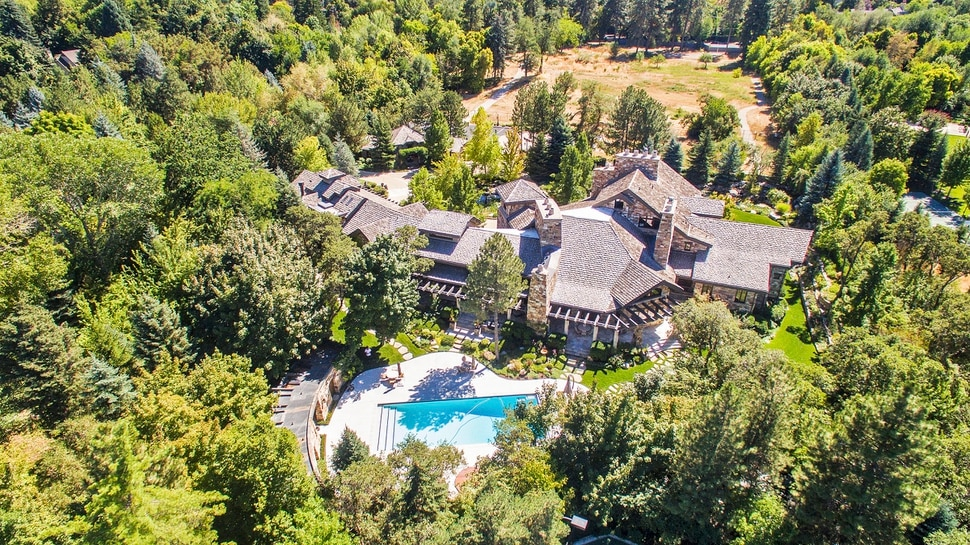 (Courtesy of Concierge Auctions) This 23,035-square-foot house in Holladay will go on the auction block Nov. 2, 2017.