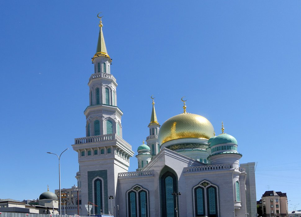 (Michael Stack | Special to The Salt Lake Tribune) Moscow's Cathedral Mosque.