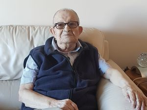 (Photo courtesy of The Church of Jesus Christ of Latter-day Saints) Justiniano Anibal Ulloa, a 101-year-old member of The Church of Jesus Christ of Latter-day Saints living in Scarborough, Ontario, recently survived COVID-19.