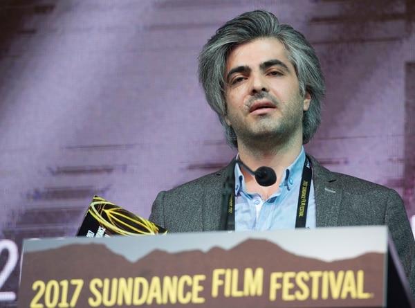 Rick Egan   The Salt Lake Tribune Director Feras Fayyad receives the World Cinema Grand Jury Prize: Documentary ÒLast Men in Aleppo,Ó at the 2017 Sundance Film FestivalÕs Awards Ceremony, Saturday, January 28, 2017.