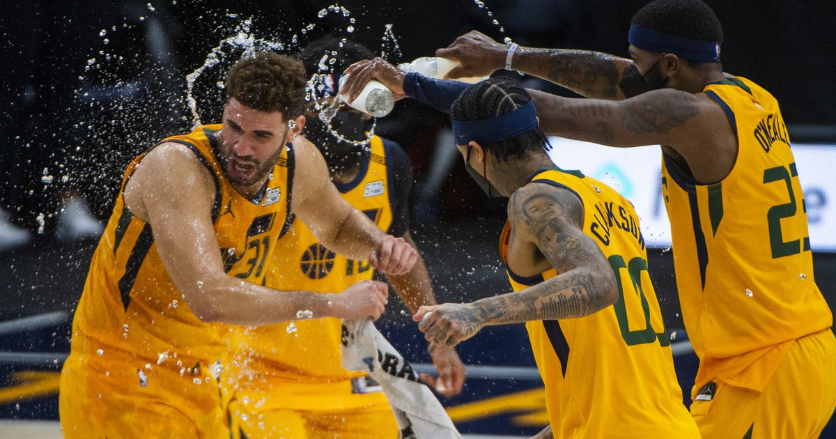 Listless Utah Jazz blow the Hornets away with an out-of-nowhere 26-2 run