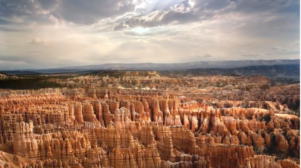 (Image courtesy of Utah Office of Tourism, via YouTube) An image from one of two ads sponsored by the state of Utah to promote tourism in key Western states as part of a campaign dubbed
