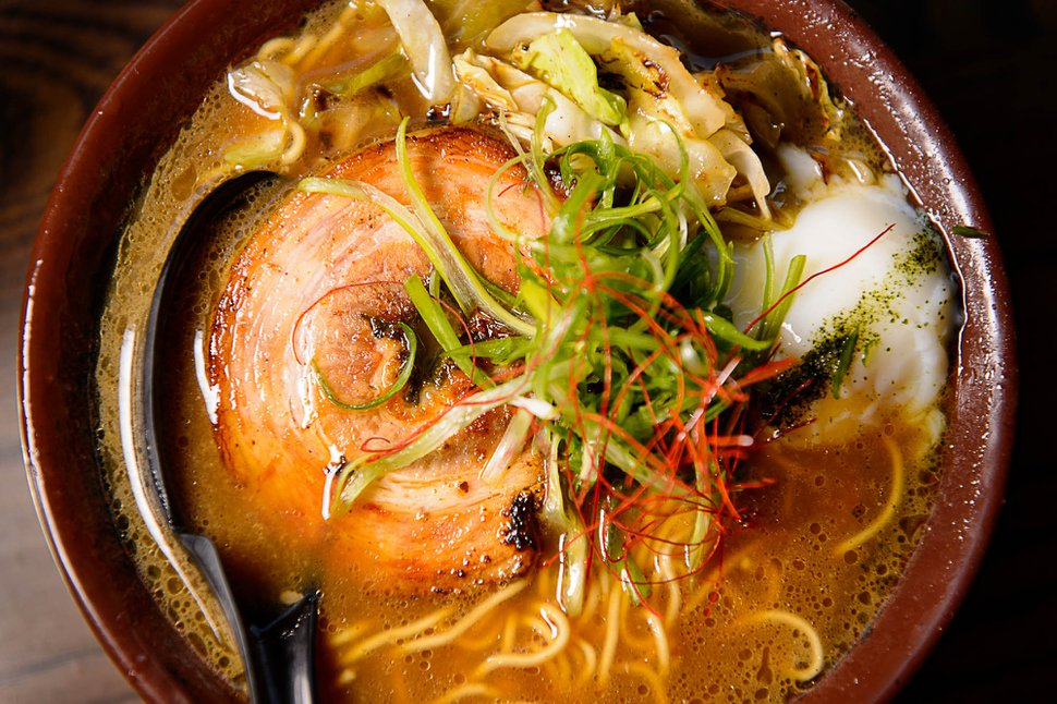 (Trent Nelson | The Salt Lake Tribune) Pork ramen at Yoko Ramen.